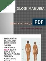 FISIOLOGI MANUSIA fungsi