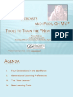 TOC 2008 - Wikis, Webcasts and iPods, Oh My for Web