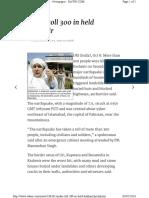 Http Www.dawn.Com News 160361 Quake-Toll-300-In-held-kashmir