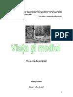 program educativ -Viata Si Mediul