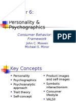 6) Personality and Psychographics