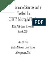 EPRI MicroGrid