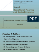 Operational Planning and Control System