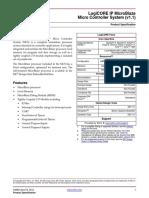 Microblaze Logicore IP Ds865_microblaze_mcs