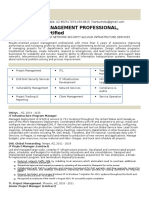 286049461 IT Infrastructure Project Manager in Phoenix AZ Resume Tore Bonanno