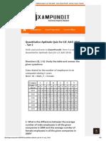Quantitative Aptitude Quiz for LIC AAO 2016 - Set 2 _ Exam Pundit - Achieve. Inspire