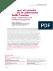 The Impact of Lay Health Advisors on.8