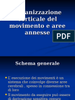 9 Organizzazione Corticale Del Movimento e Aree Annesse.ppt