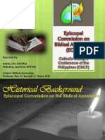 Episcopal Commission on Biblical Apostolate (ECBA)