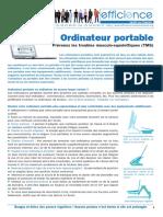 EST Travail Sur Ordinateur Portable A4