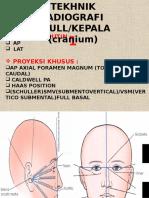 Teknik Radiografi Kepala