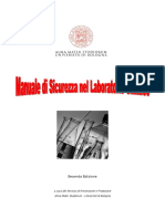 Manuale Sicurezza Laboratorio Chimico 2013 Vers2