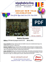 New year handout Flyers