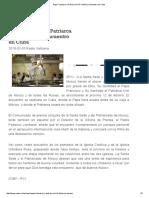 Papa Francisco y Patriarca Kirill_ Histórico Encuentro en Cuba