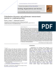Globalization discourses and performance measurement systems in a multinational firm