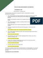 GBC FOI Response 2942 Re Housing Model