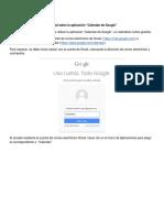 ABC Campus Virtual ESI Tutorial Tutorial Google Calendar 2