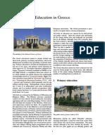 Education in Greece