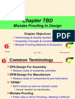 Mistake Proofing in Design
