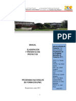 Manual Del Proyecto. Ult. Version. Junio 2013