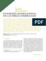 Panorama Internacional de Las Ferias Comerciales