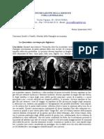 [ITA] Superiore Generale – Lettera di Quaresima 2016