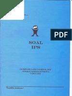 Soal OSN Kota/Kab IPS 2011