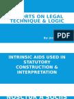 Reports on Legal Technique & Logic