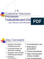 Chapter 9-Customer Decision Processes
