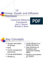 Chapter 12-Group, Dyadic & Diffusion Process
