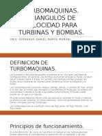 Triangulos de velocidad en Turbomaquinas