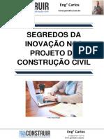 Segredos da Inovação nos Projetos da Construção Civil
