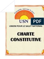 Charte Constitutive de l'USN