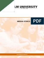 Media Ethics Laws