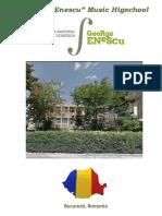 Brosura Colegiul Enescu
