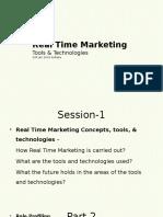Realtime Marketing