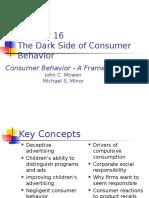 Chapter 16-Dark Side of Consumer Behaviour