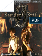 Resident Evil Zero BradyGames Official Strategy Guide