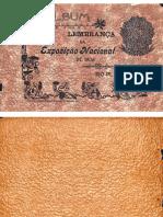 Álbum Lembrança Da Exposição Nacional de 1908, RJ