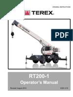 RT200 1 Manual Operator