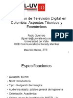 Introduccion de TV Digital en Colombia