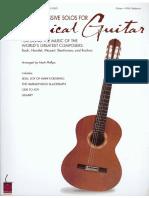 60 Progressive Guitar Solos for Classical Guitar