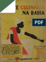A Arte Culinaria Na Bahia