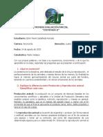 Primera Evaluación Parcial Zootecnia II