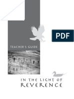 Teachers Guide for in the Light of Reverence
