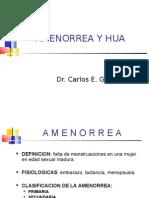 AMENORREA y Hemorragia Uterina Anormal