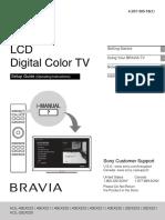 Sony Bravia Kdl Ex520 Ex521 Ex523_qs