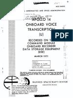 Apollo 14 Transcript