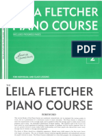 Piano Book 2 of Fletcher