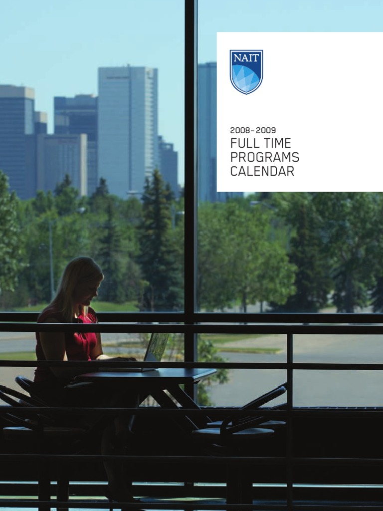 Nait Fulltime Calendar 2008 Apprenticeship Edmonton Acac Ssr Wiring